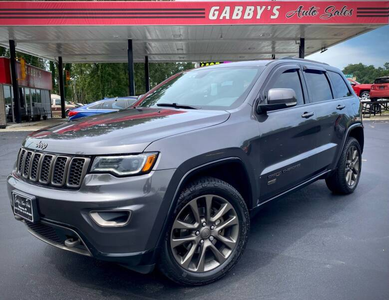 2016 Jeep Grand Cherokee for sale at GABBY'S AUTO SALES in Valparaiso IN