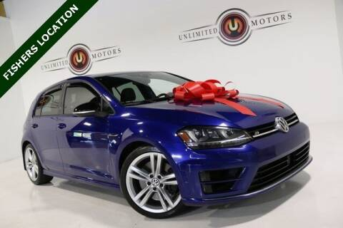 2017 Volkswagen Golf R for sale at Unlimited Motors in Fishers IN