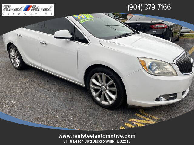 2012 Buick Verano for sale at Real Steel Automotive in Jacksonville FL