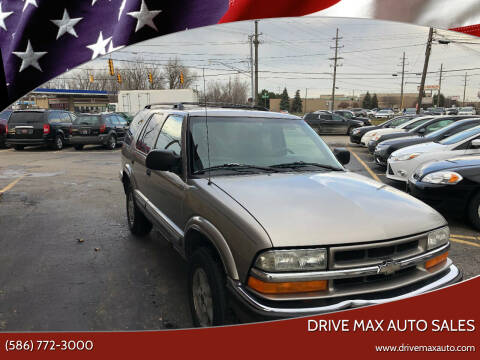 1999 Chevrolet Blazer for sale at Drive Max Auto Sales in Warren MI