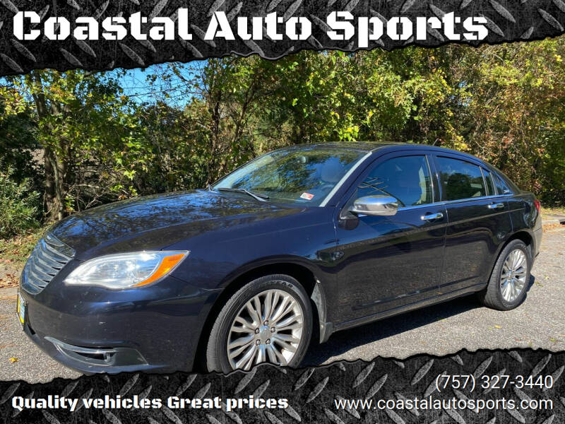 2012 Chrysler 200 for sale at Coastal Auto Sports in Chesapeake VA