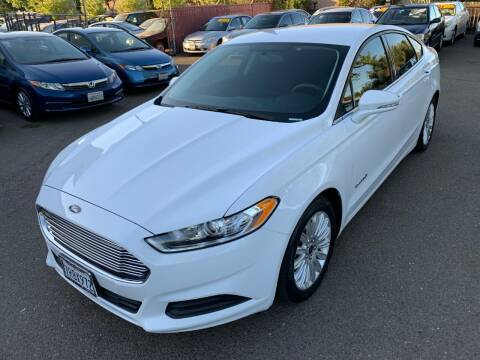 2016 Ford Fusion Hybrid for sale at C. H. Auto Sales in Citrus Heights CA