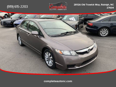 2010 Honda Civic for sale at Complete Auto Center , Inc in Raleigh NC