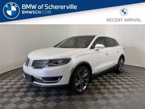 2016 Lincoln MKX for sale at BMW of Schererville in Shererville IN