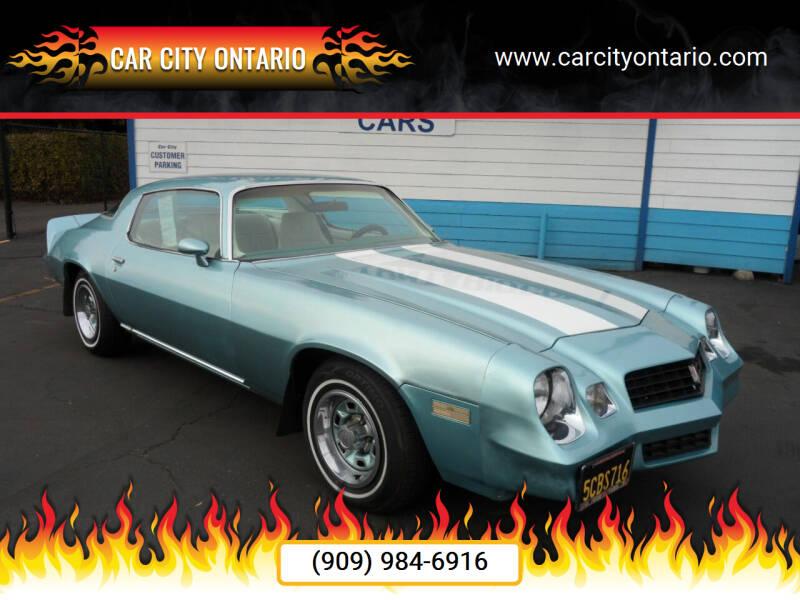 1978 Chevrolet Camaro for sale at Car City Ontario in Ontario CA