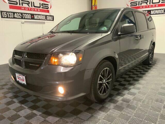2017 Dodge Grand Caravan for sale at SIRIUS MOTORS INC in Monroe OH