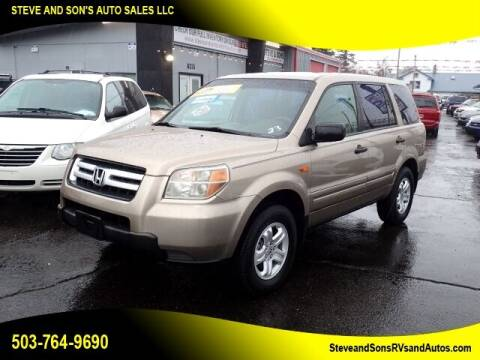 2006 Honda Pilot for sale at Steve & Sons Auto Sales in Happy Valley OR