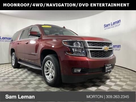 2019 Chevrolet Suburban for sale at Sam Leman CDJRF Morton in Morton IL