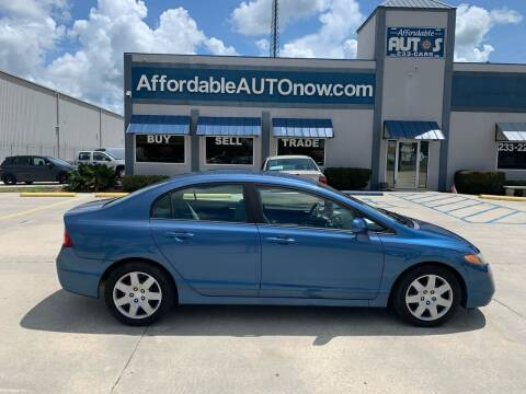 2008 Honda Civic for sale at Affordable Autos in Houma LA