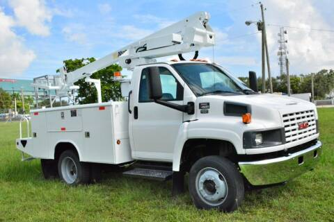 2006 GMC C4500 for sale at American Trucks and Equipment in Hollywood FL