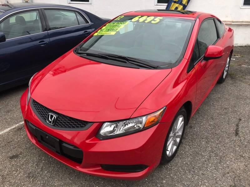 2012 Honda Civic for sale at Washington Auto Repair in Washington NJ
