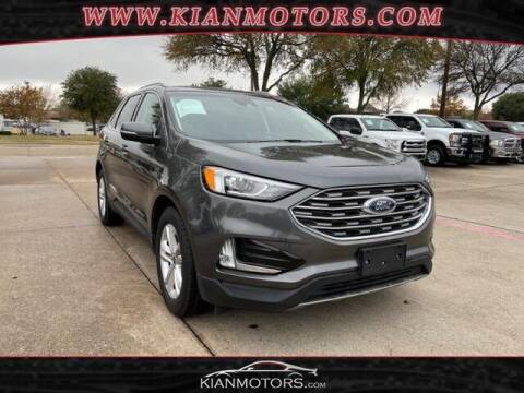 2020 Ford Edge for sale at KIAN MOTORS INC in Plano TX