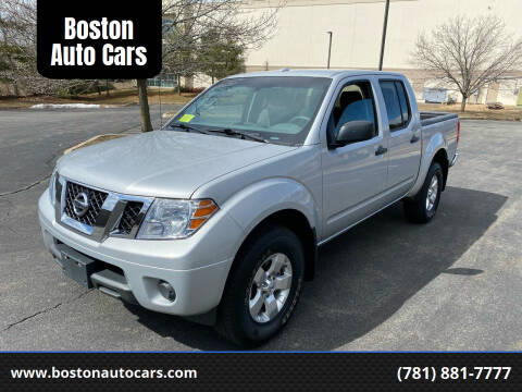 2013 Nissan Frontier for sale at Boston Auto Cars in Dedham MA
