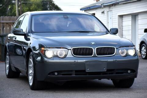 2005 BMW 7 Series for sale at Wheel Deal Auto Sales LLC in Norfolk VA