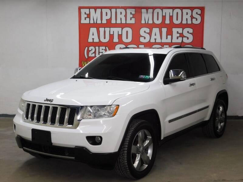 2013 Jeep Grand Cherokee for sale at EMPIRE MOTORS AUTO SALES in Philadelphia PA