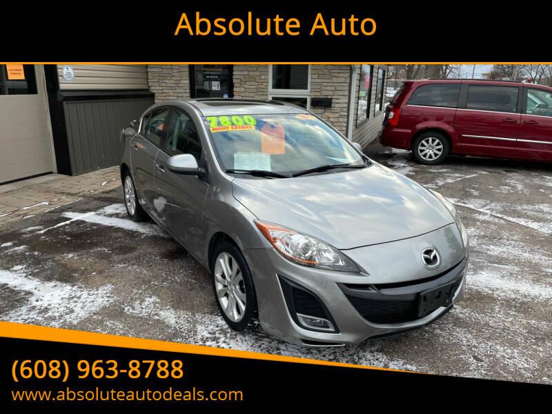 2011 Mazda MAZDA3 for sale at Absolute Auto in Baraboo WI