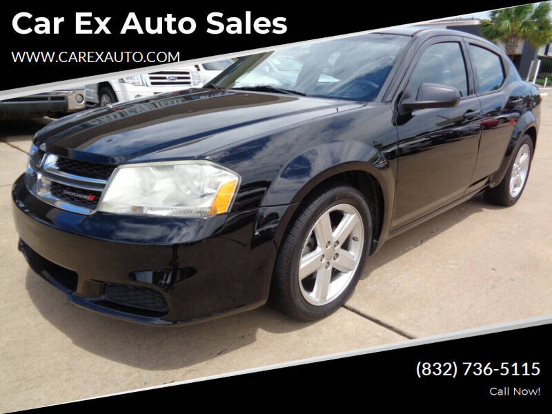 2013 Dodge Avenger for sale at Car Ex Auto Sales in Houston TX