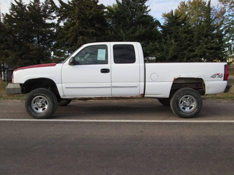 2004 Chevrolet Silverado 1500 for sale at Joe's Motor Company in Hazard NE