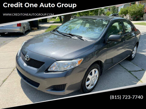 2010 Toyota Corolla for sale at Credit One Auto Group in Joliet IL