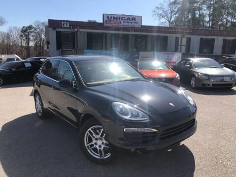2011 Porsche Cayenne for sale at Unicar Enterprise in Lexington SC
