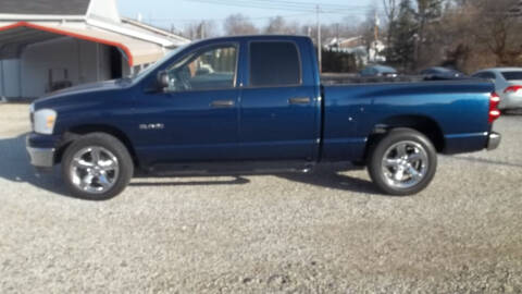 2008 Dodge Ram Pickup 1500 for sale at MIKE'S CYCLE & AUTO - Mikes Cycle and Auto (Liberty) in Liberty IN