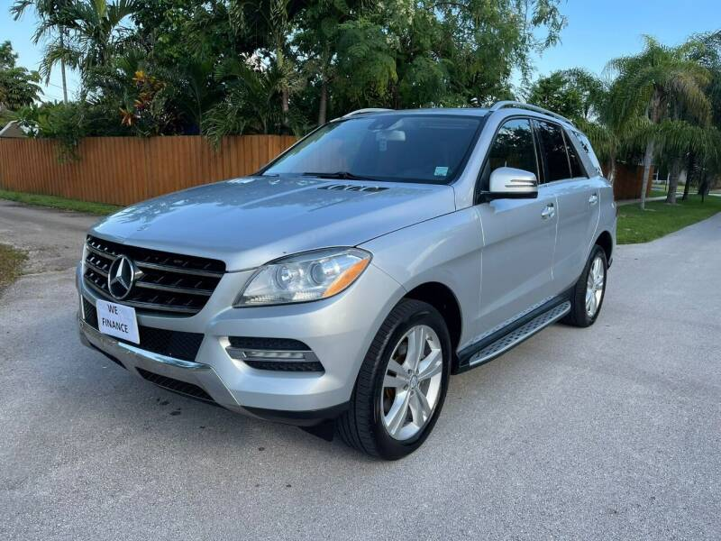2013 Mercedes-Benz M-Class for sale at Venmotors Hollywood in Hollywood FL