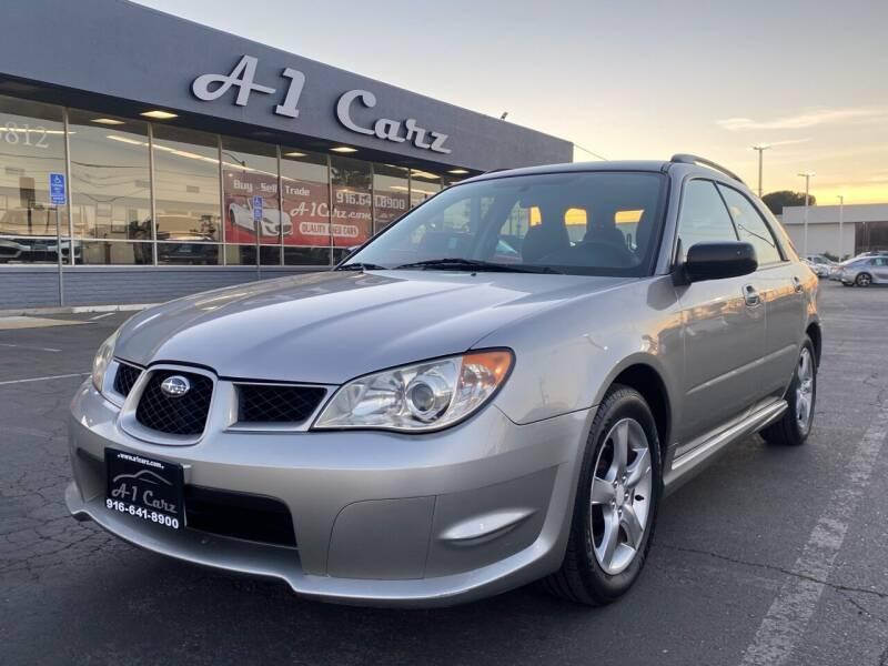 2007 Subaru Impreza for sale at A1 Carz, Inc in Sacramento CA