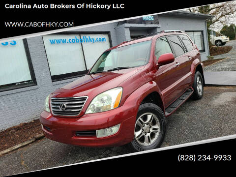 2008 Lexus GX 470 for sale at Carolina Auto Brokers of Hickory LLC in Newton NC