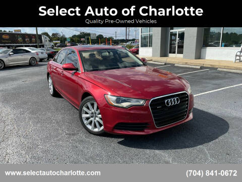 2013 Audi A6 for sale at Select Auto of Charlotte in Matthews NC