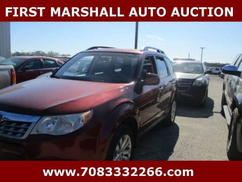 2011 Subaru Forester for sale at First Marshall Auto Auction in Harvey IL