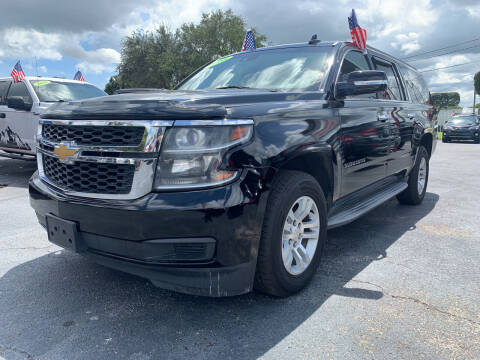 2015 Chevrolet Suburban for sale at Bargain Auto Sales in West Palm Beach FL