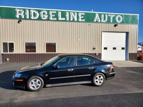 2004 Saab 9-3 for sale at RIDGELINE AUTO in Chubbuck ID