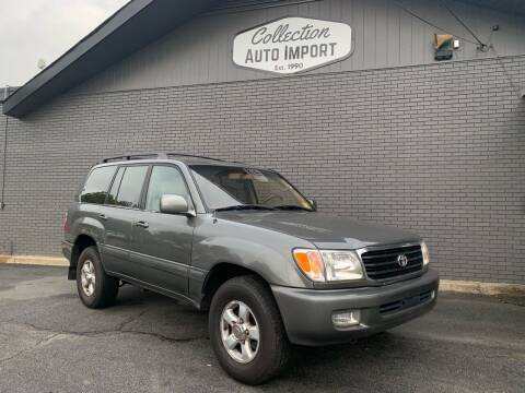 2000 Toyota Land Cruiser for sale at Collection Auto Import in Charlotte NC
