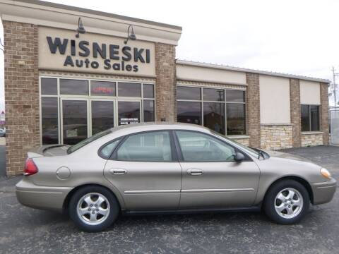 2007 Ford Taurus for sale at Wisneski Auto Sales, Inc. in Green Bay WI