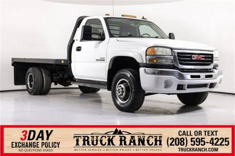 2007 GMC Sierra 3500 CC Classic for sale at Truck Ranch in Twin Falls ID