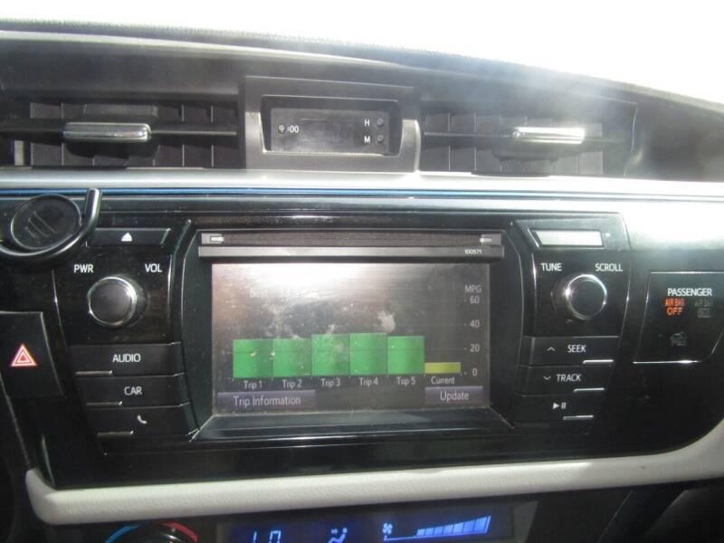 2016 Toyota Corolla LE 4dr Sedan - Bethany OK