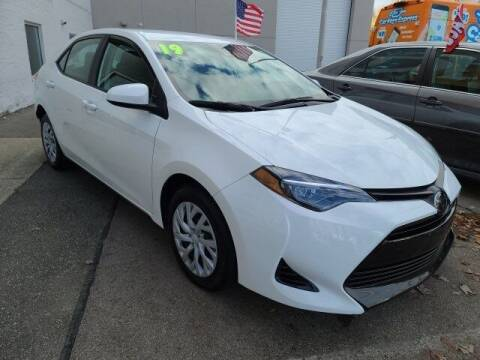 2019 Toyota Corolla for sale at WHITE-ALLEN CHEVROLET in Dayton OH