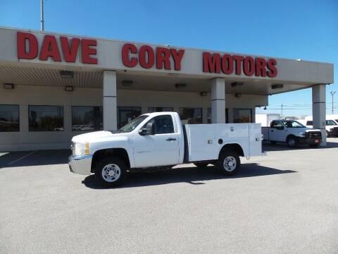 2010 Chevrolet Silverado 2500HD for sale at DAVE CORY MOTORS in Houston TX