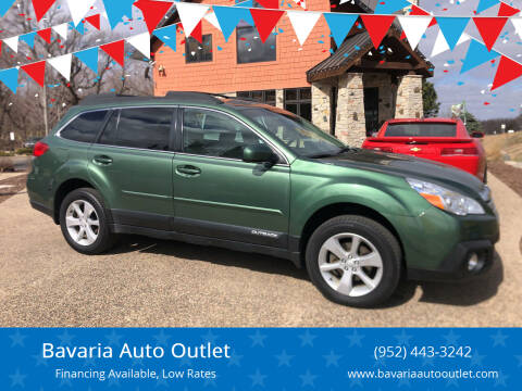 2013 Subaru Outback for sale at Bavaria Auto Outlet in Victoria MN