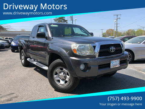 2011 Toyota Tacoma for sale at Driveway Motors in Virginia Beach VA