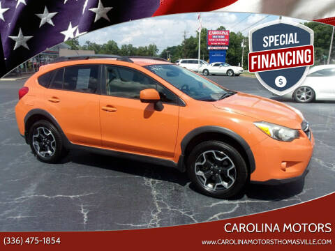 2014 Subaru XV Crosstrek for sale at CAROLINA MOTORS in Thomasville NC