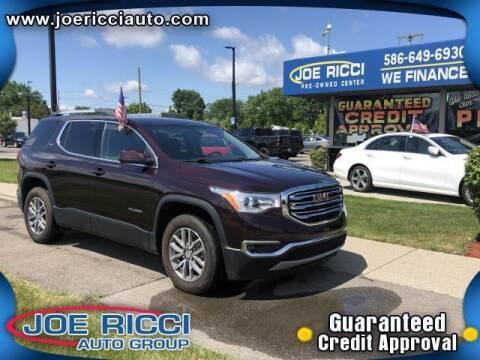2018 GMC Acadia for sale at JOE RICCI AUTOMOTIVE in Clinton Township MI