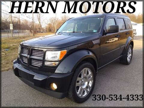 2011 Dodge Nitro for sale at Hern Motors - 2021 BROOKFIELD RD Lot in Hubbard OH