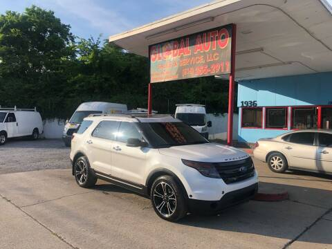 2014 Ford Explorer for sale at Global Auto Sales and Service in Nashville TN