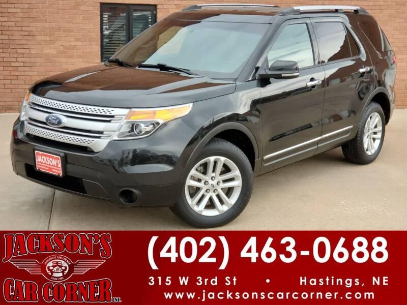 2015 Ford Explorer for sale at Jacksons Car Corner Inc in Hastings NE