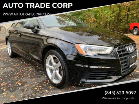 2015 Audi A3 for sale at AUTO TRADE CORP in Nanuet NY