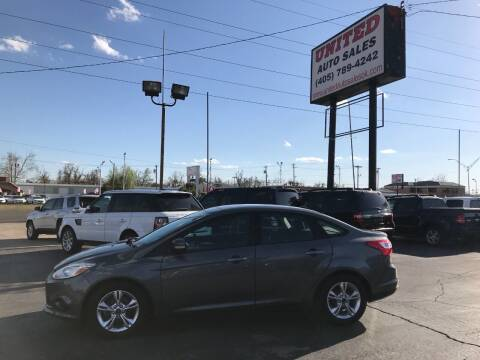2014 Ford Focus for sale at United Auto Sales in Oklahoma City OK