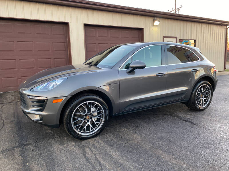 2015 Porsche Macan for sale at Ryans Auto Sales in Muncie IN