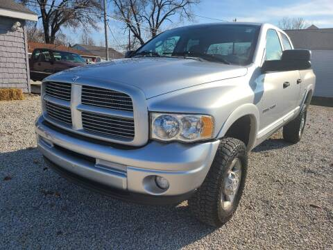 2004 Dodge Ram Pickup 2500 for sale at Davidson Auto Deals in Syracuse IN