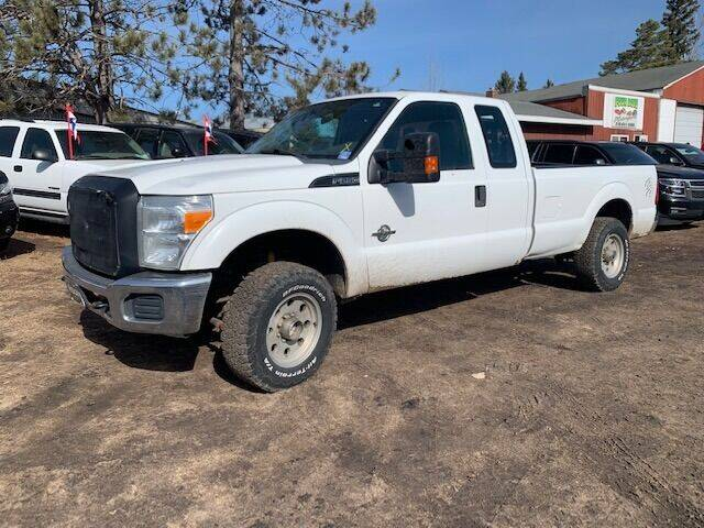 2011 Ford F-250 Super Duty for sale at Four Boys Motorsports in Wadena MN